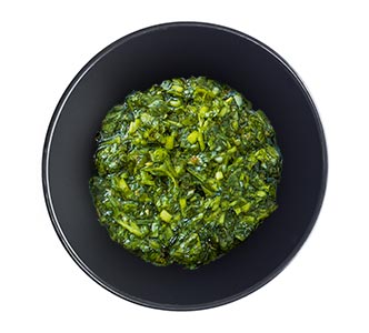 A bowl of Argentinian chimichurri.