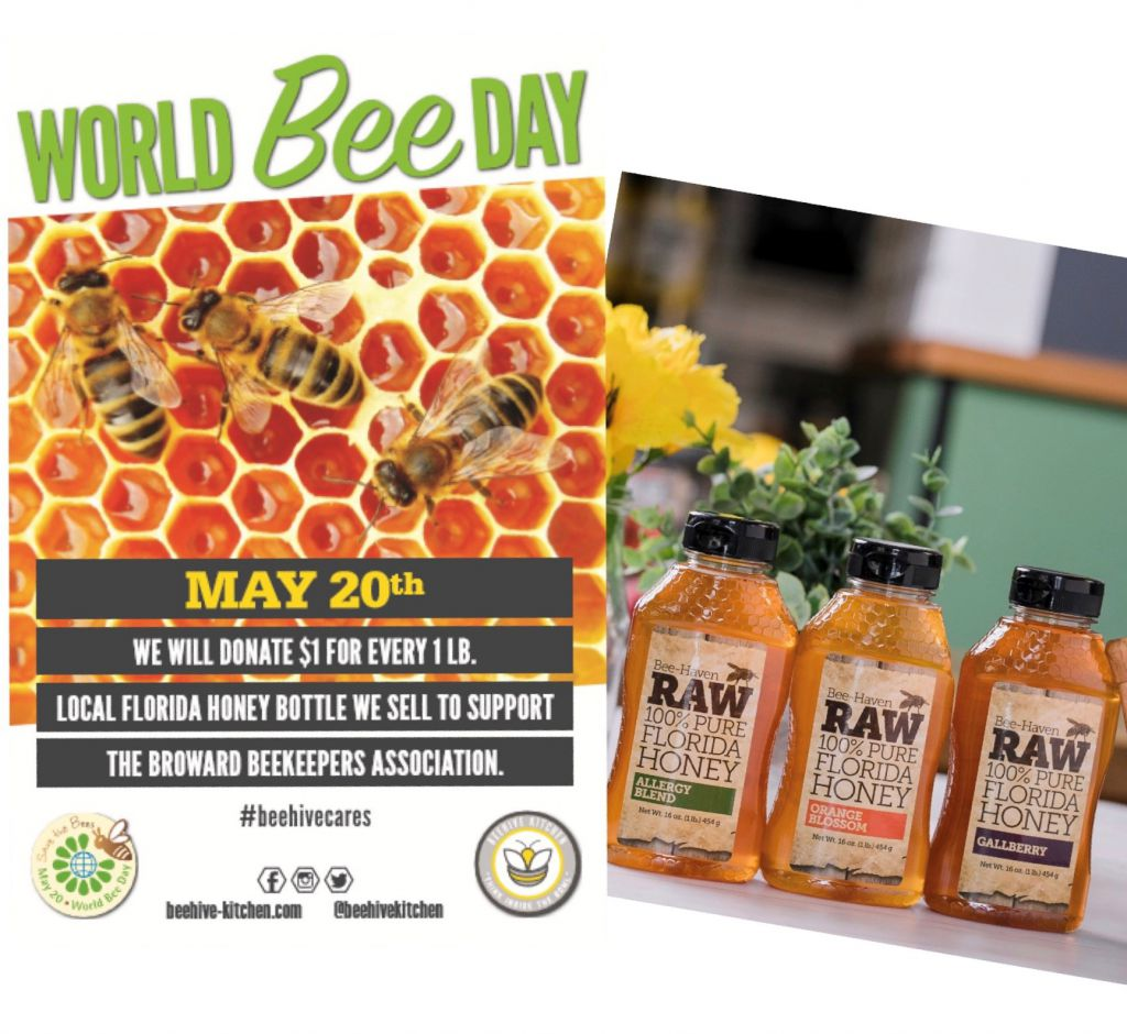 World Bee Day! We are donating $1 1